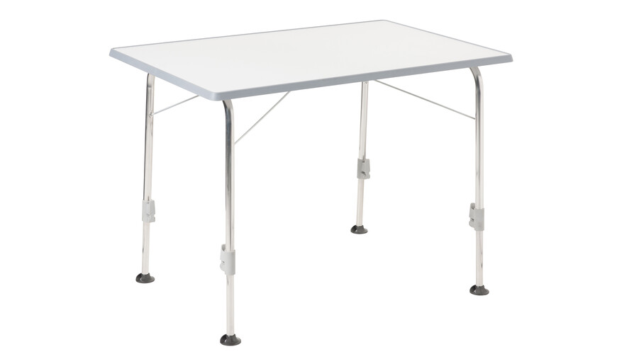 Dukdalf Table Stabilic - Table de camping - Modell 2 blanc